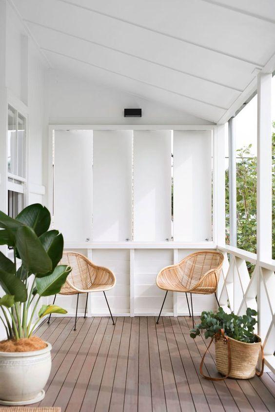 Ideas para decorar tu porche 7 decoracion de for Decorar porche pequeno