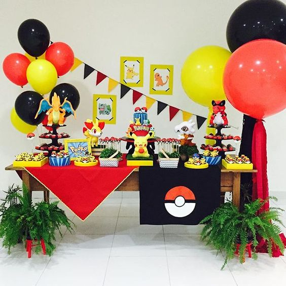 Ideas para fiesta infantil de pokemon 4 Decoracion de interiores