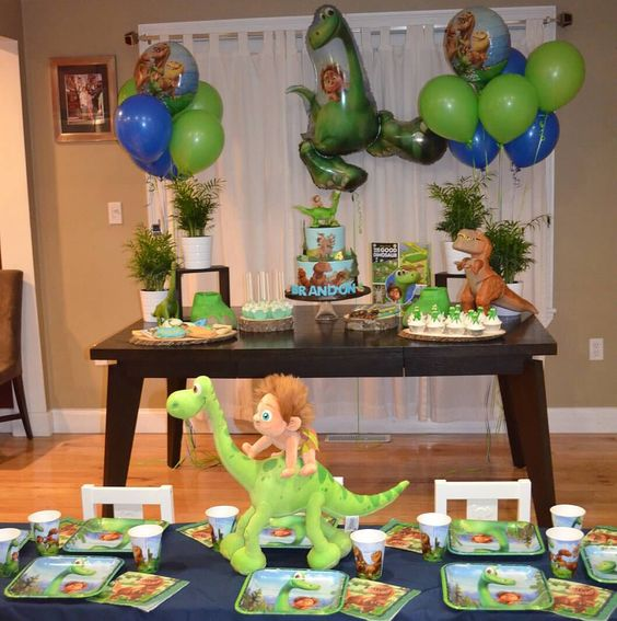 Ideas para fiestas con tema de gran dinosaurio 3 - Ideas para fiestas en casa ...