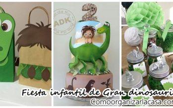 Ideas para fiestas con tema de gran dinosaurio