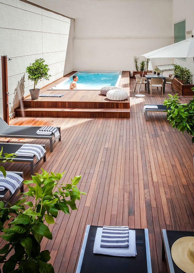 Ideas para montar un patio en el techo de tu casa 26 for Ideas para hacer un techo en el patio
