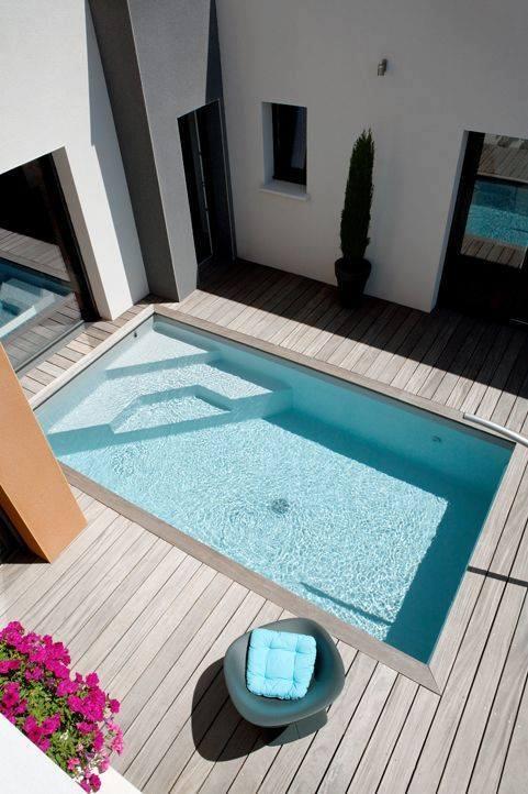 Ideas para piscinas peque as en tu patio 11 decoracion for Ideas para piscinas