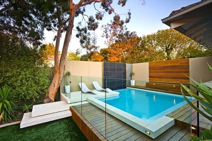 Ideas para piscinas peque as en tu patio 18 decoracion - Piscinas en patios interiores ...