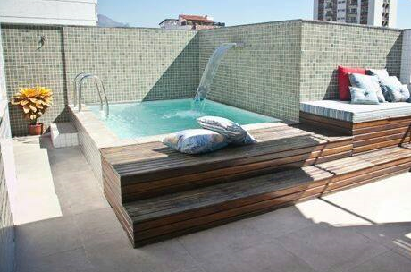 Ideas para piscinas peque as en tu patio 4 decoracion - Piscinas interiores pequenas ...