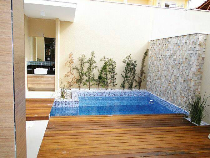 Ideas para piscinas peque as en tu patio 5 decoracion - Piscinas en patios interiores ...