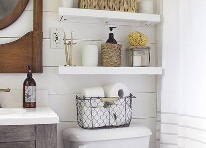 Manten las cosas de tu baño en orden con estas geniales ideas