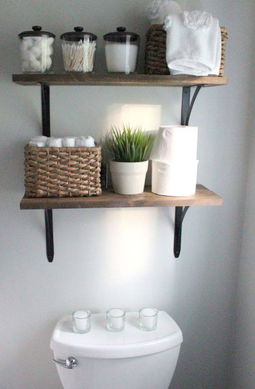 Manten las cosas de tu ba o en orden con estas geniales - 20 ideas geniales para organizar tu casa ...