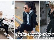 Outfits casuales color negro