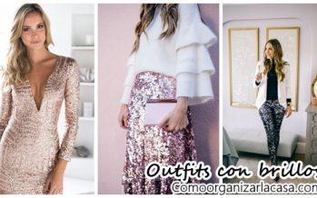 Outfits con brillos para un look glamuroso