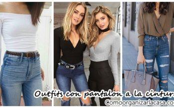 Outfits con pantalon a la cintura