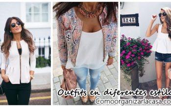 Outfits en diferentes estilos