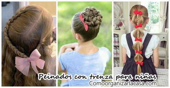 Peinados Con Trenza Para Ninas Como Organizar La Casa Fachadas