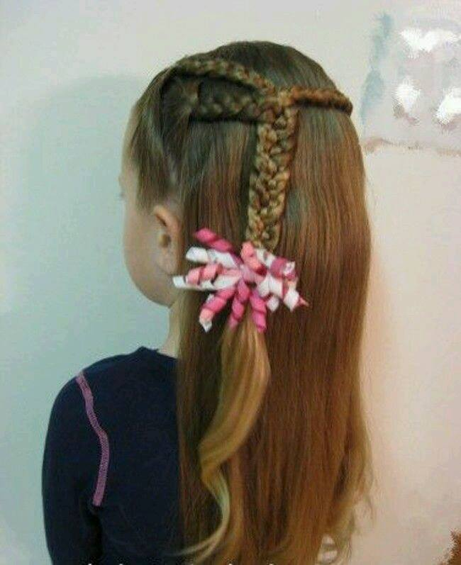Peinados Con Trenza Para Ni 241 As 6 Decoracion De