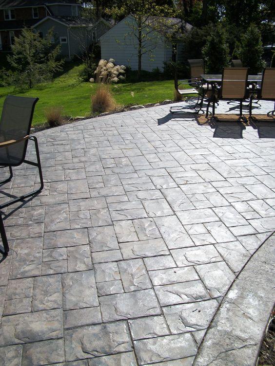 Pisos de cemento para exterior 1 decoracion de for Pisos rusticos para patios fotos
