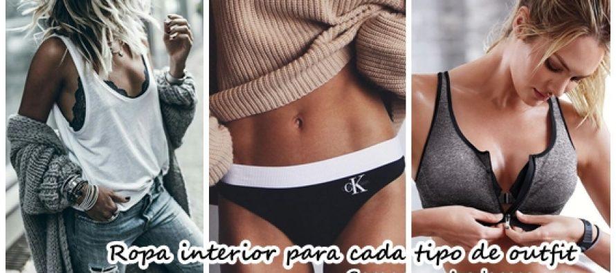 Que tipo de ropa interior usar dependiendo tu outfit - Como reciclar ropa interior ...