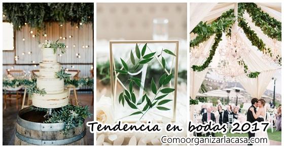 Tendencia en bodas 2017 decoracion de interiores for Tendencias de bodas 2017