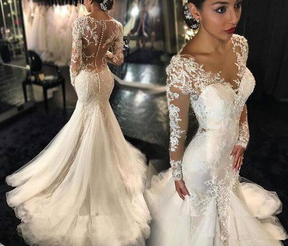196 Best The Greek Wedding Dress Images On Pinterest: Vestidos De Novia 2019 - 2020 (42)