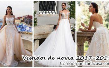 Vestidos de novia 2017 – 2018