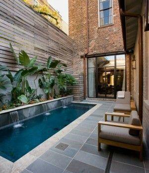 Ideas para piscinas pequeñas en tu patio