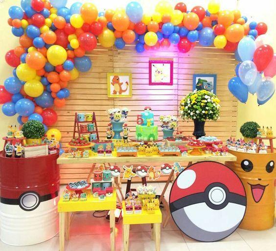 Ideas para fiesta infantil de pokemon