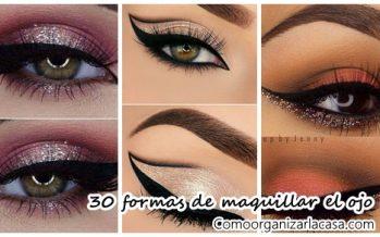 30 Formas de maquillar el ojo para que sea el protagonista de tu maquillaje