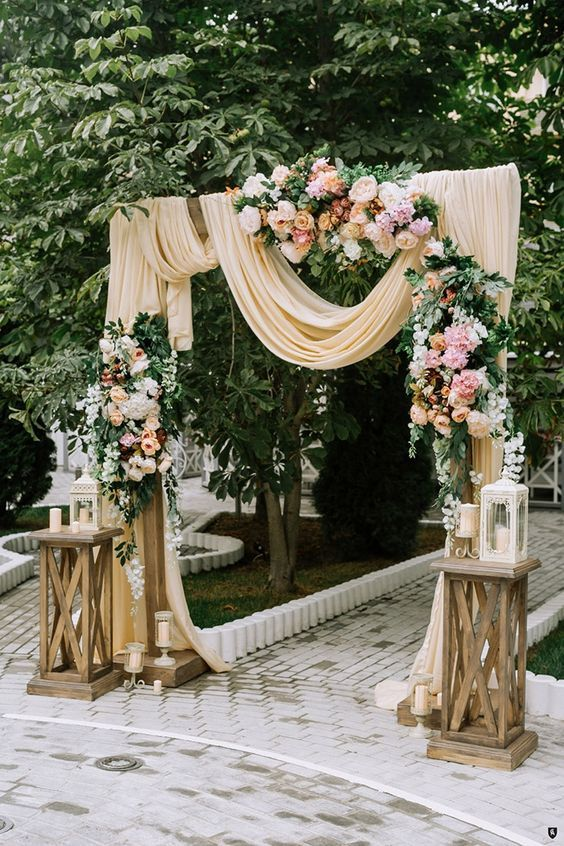 30 ideas para decorar entradas de bodas