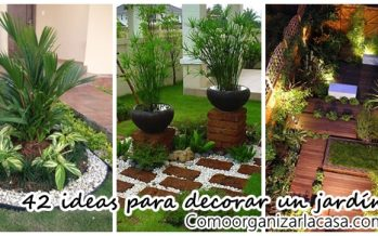 42 Ideas para decorar tu jardín