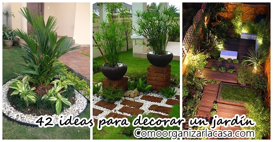 42 ideas para decorar tu jard n decoracion de interiores for Ideas para tu jardin en casa