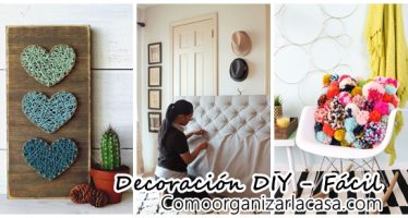 Decoración DIY – Fácil