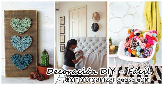 Decoraci n diy f cil decoracion de interiores fachadas for Diy decoracion casa