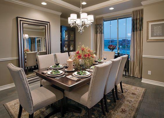 Decoración de comedores con espejos | Como Organizar la Casa ...