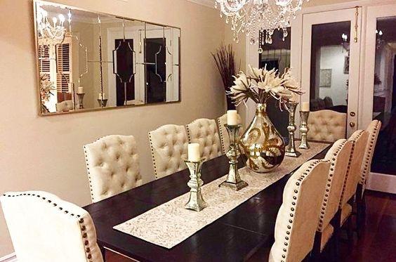 Decoraci n de comedores con espejos 9 decoracion de for Decoracion de salas con espejos en la pared