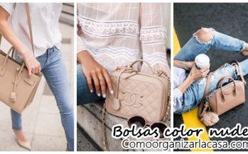 Diseños de bolsas color nude que quedan con cualquier look ¡Miralas!