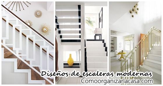 Diseños de escaleras para interiores modernos | Decoracion de ...