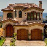 Fachadas de casas con techo de teja decoracion de for Colores de casas modernas por fuera