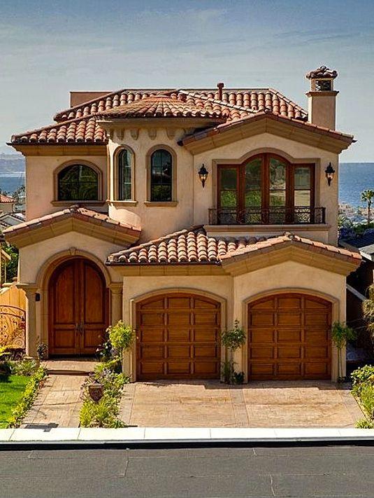 fachadas de cas con techo de teja 10