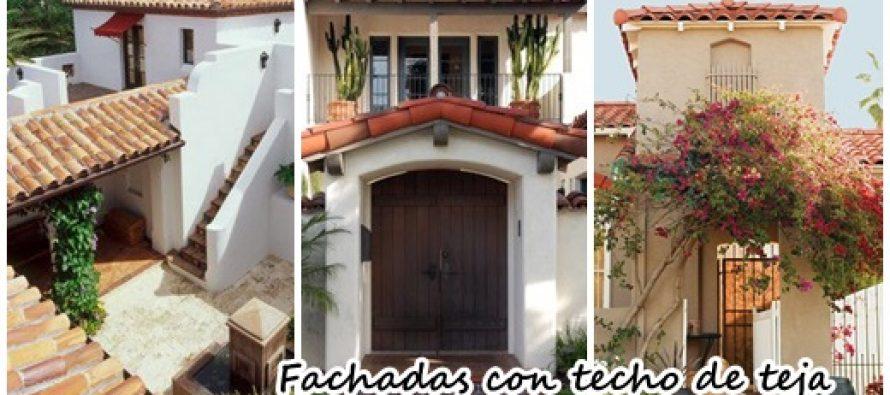 Fachadas de casas con techo de teja curso de for Imagenes de casa con techos de tejas