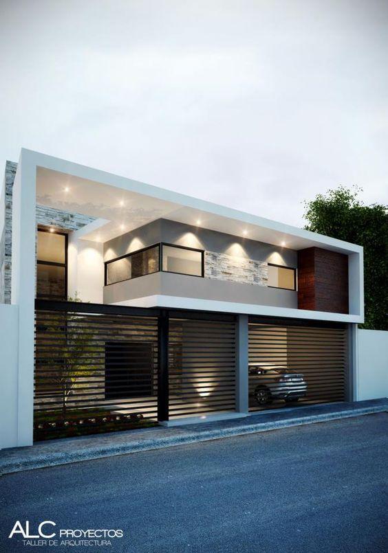 Fachadas de casas con cerco 5 for Viviendas estilo minimalista