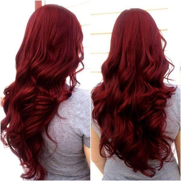 Ideas de color para cabello rojo vivo 15 como organizar la casa fachadas decoracion de - Bano de color rojo pelo ...