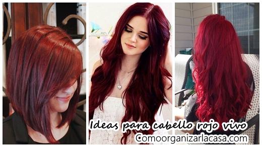 Ideas de color para cabello rojo vivo decoracion de interiores fachadas para casas como - Bano de color rojo pelo ...