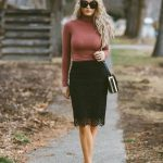 Ideas de outfits para combinar faldas de encaje