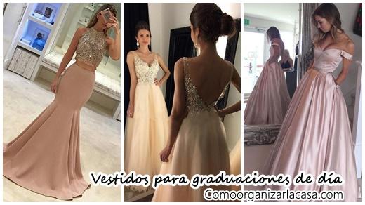 Modelos de vestidos para la graduacion