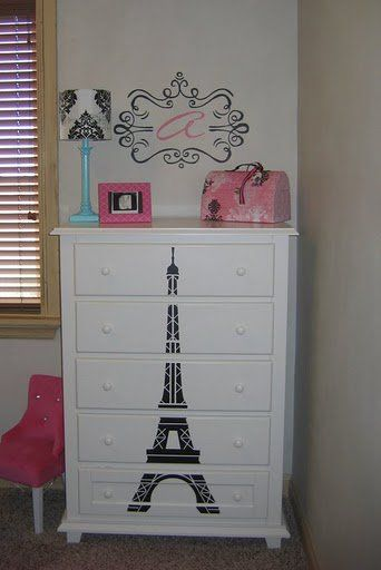 Ideas para decorar una habitaci n inspirada en paris 13 for Decoracion de interiores paris