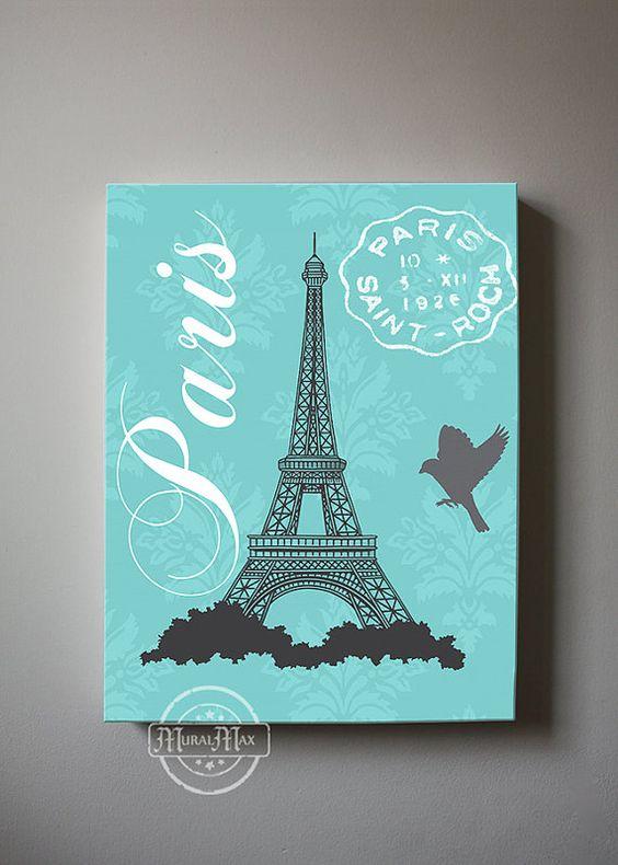 Ideas para decorar una habitaci n inspirada en paris 35 for Decoracion de interiores paris