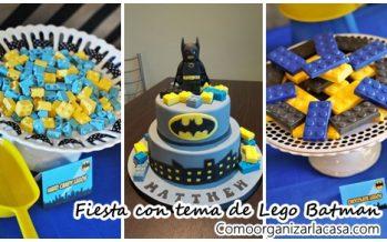 Ideas para fiesta con tema de Lego Batman