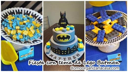 Ideas para fiesta con tema de Lego Batman (31)
