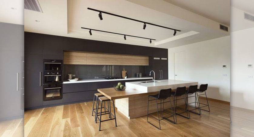 Ideas para islas centrales en tu cocina 23 decoracion for Cocinas modernas con islas centrales