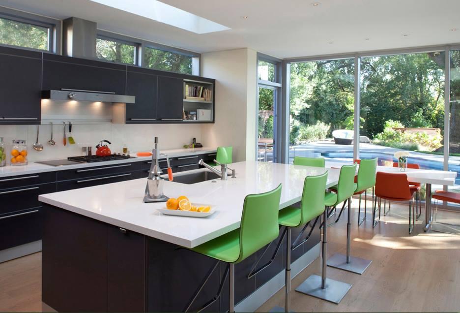 Ideas para islas centrales en tu cocina