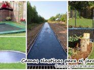Increibles ideas para montar camas elasticas en tu patio