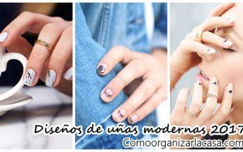 Los diseños de uñas mas modernos que debes usar esta temporada